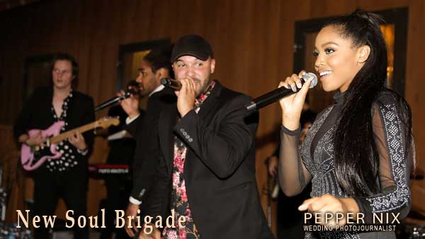 New Soul Brigade Live Wedding Band
