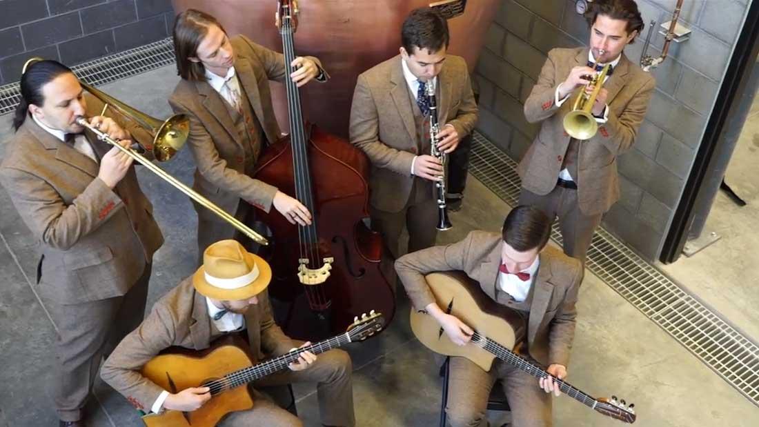 Wedding Gypsy Jazz Band